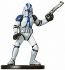 Star Wars Miniature - Clone Trooper #9, #9 - Common