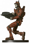 Star Wars Miniature - Devaronian Soldier, #44 - Common