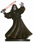 Star Wars Miniature - Emperor Palpatine, Sith Lord, #59 - Very Rare