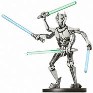Star Wars Miniature - General Grievous, Jedi Hunter, #31 - Very Rare