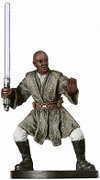 Star Wars Miniature - Mace Windu, Jedi Master, #13 - Very Rare
