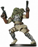 Star Wars Miniature - Nautolan Soldier, #49 - Common