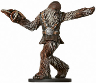 Star Wars Miniature - Wookiee Scout, #23 - Uncommon