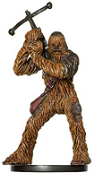Star Wars Miniature - Chewbacca, Rebel Hero, #45 - Rare