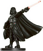 Star Wars Miniature - Darth Vader, Jedi Hunter, #37 - Rare