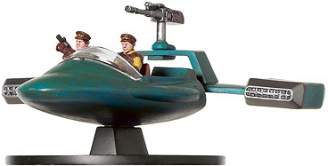 Star Wars Miniature - Flash Speeder, #4 - Uncommon