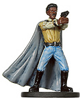 Star Wars Miniature - Lando Calrissian, Hero of Taanab, #21 - Rare