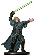 Star Wars Miniature - Luke Skywalker, Jedi Master, #53 - Very Rare