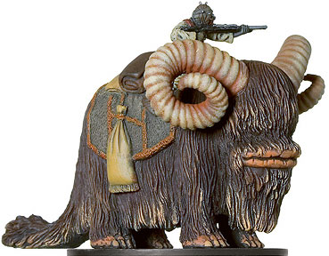 Star Wars Miniature - Tusken Raider on Bantha, #30 - Uncommon