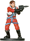 Star Wars Miniature - Wedge Antilles, #51 - Rare
